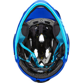 Bell Super 3R MIPS Helm matte blue/bright blue